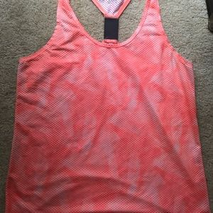 Under armour Ladies  Fly-By Stretch Mesh Tank//vest BNWT